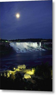 American Side Of Niagara Falls, Seen Metal Print by Richard Nowitz