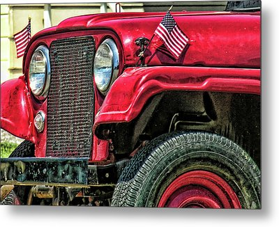 American Willys Metal Print