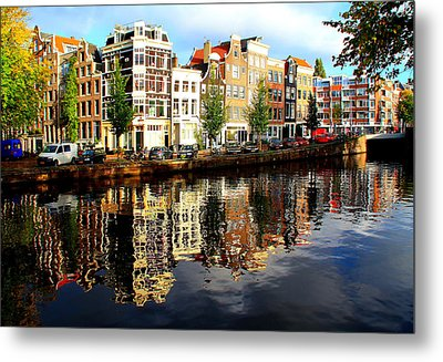 Amsterdam By Day Metal Print