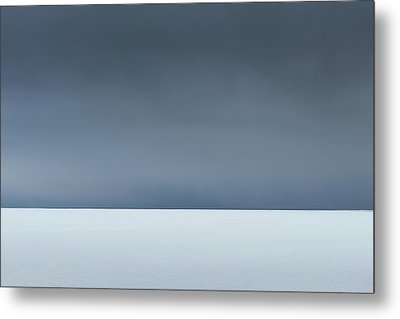 An Abstract Landscape Of The Southern Coast Of Iceland. Metal Print by Andy Astbury