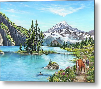 An Afternoon Adventure Metal Print by Joe Mandrick