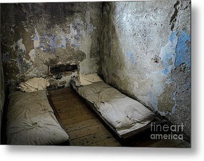 An Empty Cell In Cork City Gaol Metal Print by RicardMN Photography