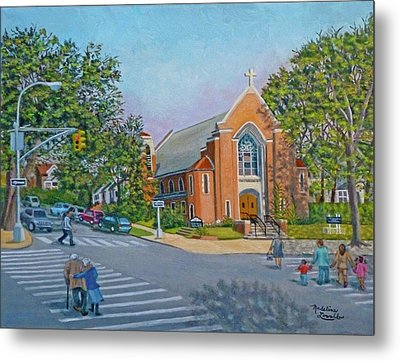 An Historical Church Metal Print