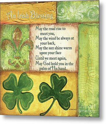 An Irish Blessing Metal Print