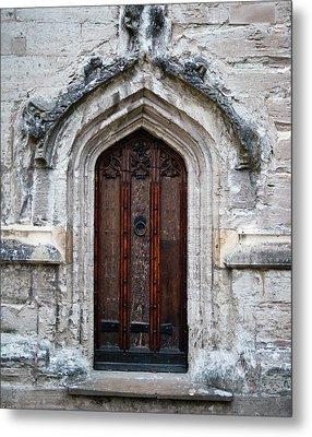 Ancient Door Metal Print by Douglas Barnett