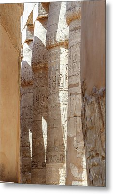 Metal Print featuring the photograph Ancient Egypt by Silvia Bruno
