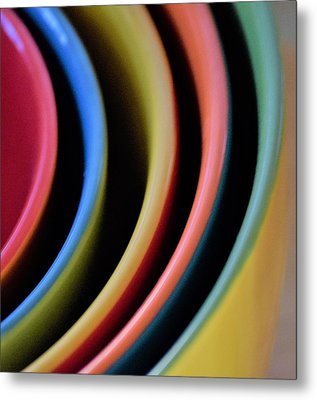 And A Dash Of Color Metal Print by John Glass