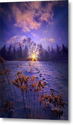 Metal Print featuring the photograph And Back Again by Phil Koch