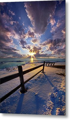 Metal Print featuring the photograph And I Will Give You Rest. by Phil Koch