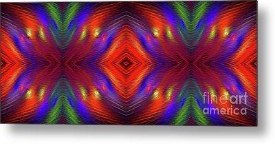Metal Print featuring the digital art Andee Design Abstract 3 2015 by Andee Design