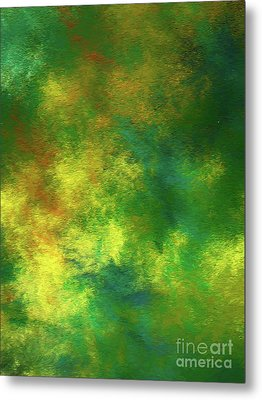 Metal Print featuring the digital art Andee Design Abstract 78 2017 by Andee Design