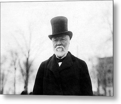 Andrew Carnegie, 1912 Metal Print by Everett