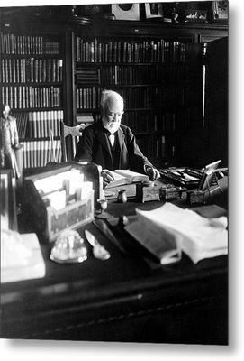 Andrew Carnegie, April 5, 1913 Metal Print