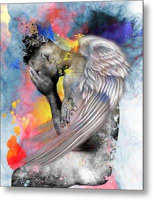 Angel  Metal Print by Mark Ashkenazi