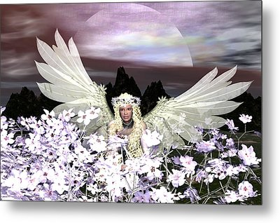 Angel My Guardian Metal Print by Eva Thomas
