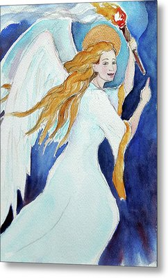 Angel Of Illumination Metal Print