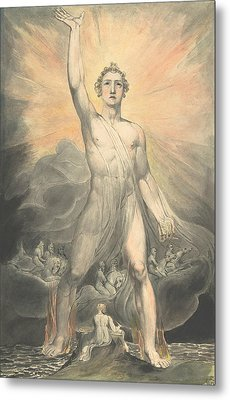 Angel Of The Revelation Metal Print