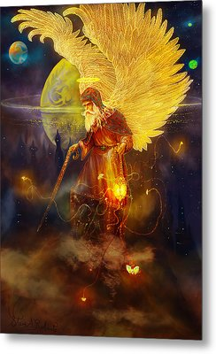 Angel Uriel Metal Print
