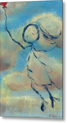 Angelica Sent To Heaven Metal Print by Ricky Sencion