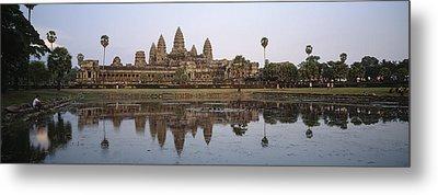 Angkor Wat, A Buddhist Temple Metal Print by Justin Guariglia