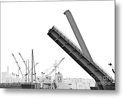 Metal Print featuring the photograph Angle Of Approach by Stephen Mitchell