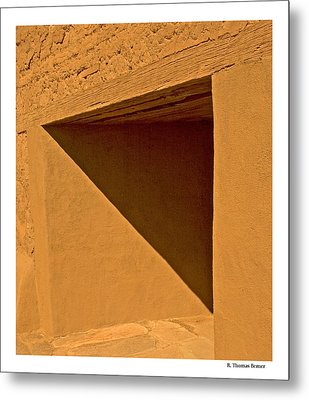 Metal Print featuring the photograph Angles by R Thomas Berner