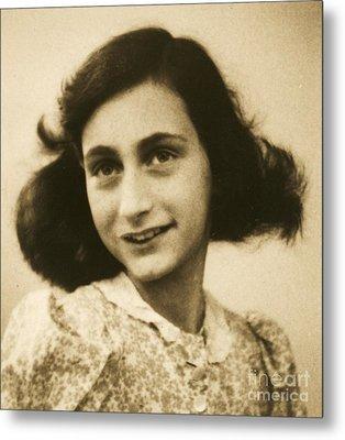 Anne Frank Metal Print
