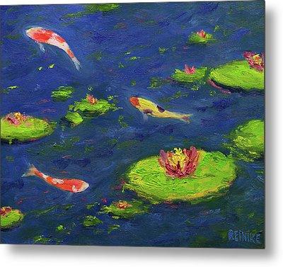 Ann's Pond V Metal Print