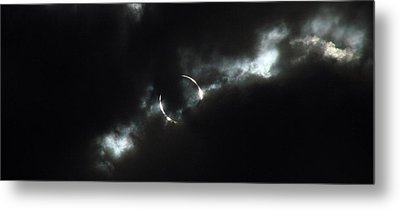 Annular Eclipse Ring Of Fire 2012 Metal Print by Scott McGuire