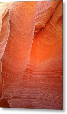 Antelope Canyon - A Dazzling Phenomenon Metal Print by Christine Till