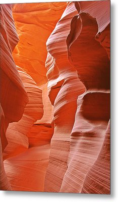 Antelope Canyon - Nature's Art Gallery Metal Print by Christine Till