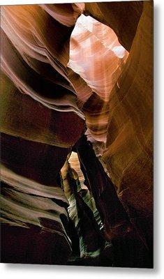 Antelope Canyon 188 Metal Print by Hans Mauli
