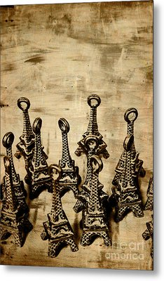 Antiques Of France Metal Print by Jorgo Photography - Wall Art Gallery