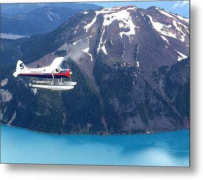 Aop In The Mountains Metal Print by Mark Alan Perry