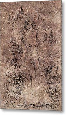 Aphrodite Of The Sea Metal Print by Rachel Christine Nowicki