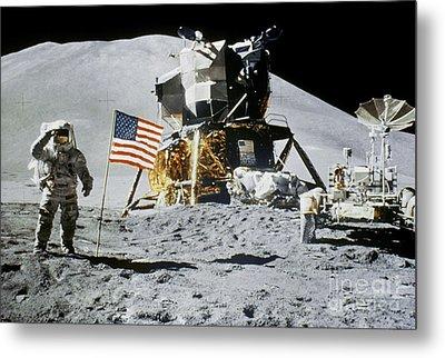 Apollo 15: Jim Irwin, 1971 Metal Print by Granger