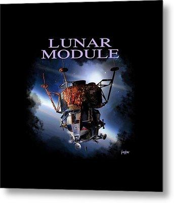 Apollo 9 Lm Metal Print