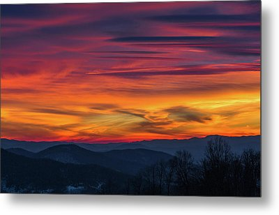 Appalachian Twilight Ecstasy Metal Print
