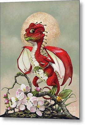 Apple Dragon Metal Print by Stanley Morrison