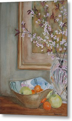 Apples And Oranges Metal Print by Jenny Armitage
