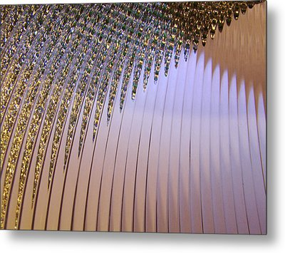 Approaching Metal Print by Mark Holbrook