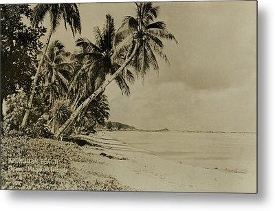 Apurguan Beach Guam Marianas Islands Metal Print