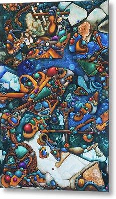 Aquariumalgam Metal Print