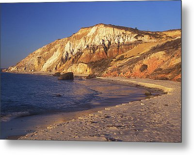 Aquinnah Gay Head Cliffs Metal Print