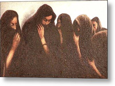 Arab Women Metal Print by James LeGros