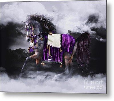 Arabian Horse  Shaitan Metal Print