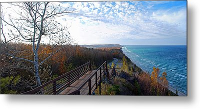 Arcadia Overlook In Fall Metal Print by Twenty Two North Photography