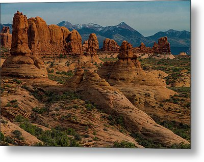 Metal Print featuring the photograph Arches National Park by Gary Lengyel