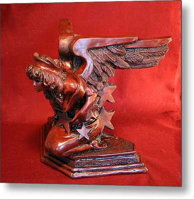 Architectural Angel Metal Print by Larkin Chollar