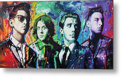Arctic Monkeys Metal Print